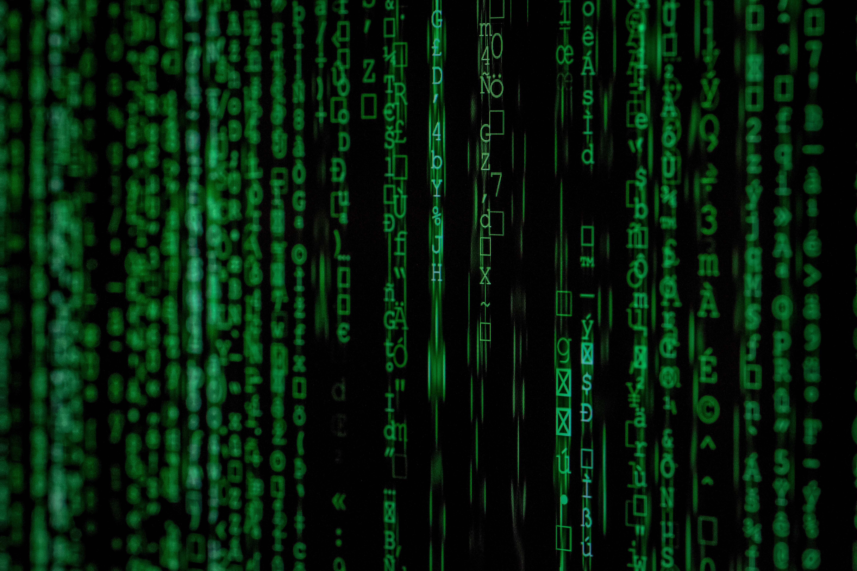 photo of internet code