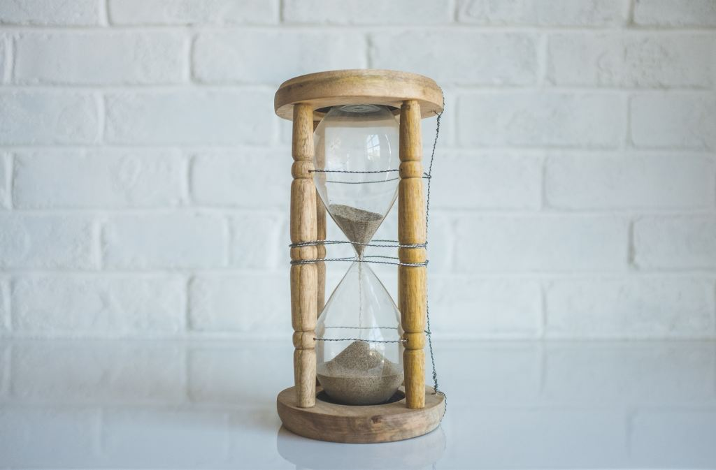 picture of a sand clock
