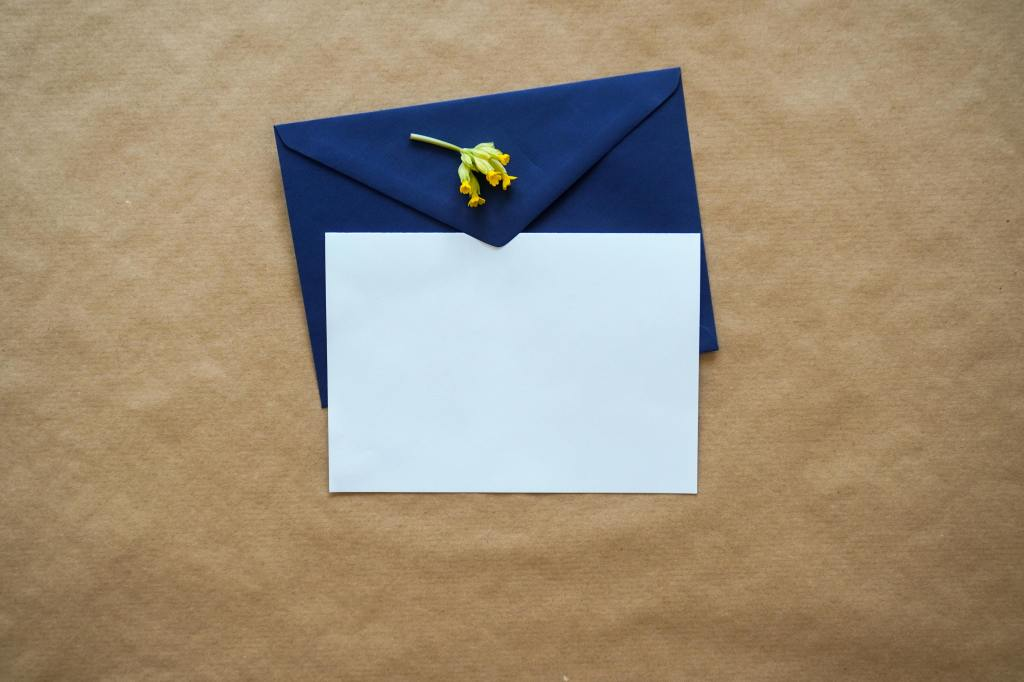 Letter. Picture by Andrew Dunstan on Unsplash